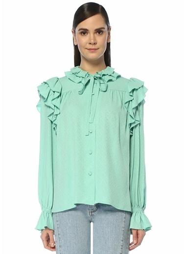 MSGM Bluz Yeşil
